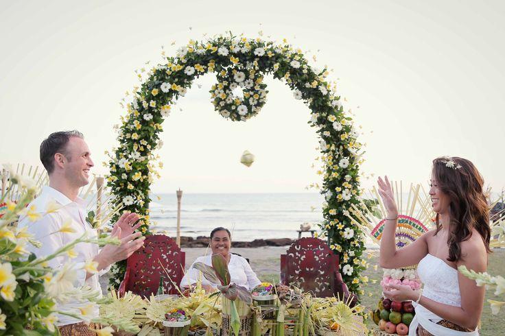 Balinese Ceremony at Hotel Tugu Bali