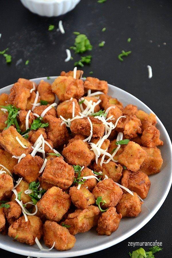 galeta unlu patlıcan kızartması