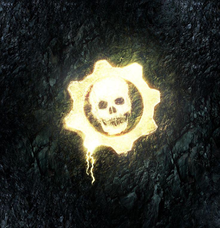 Gears Of War 2 - Dark Corners: Logo Glow