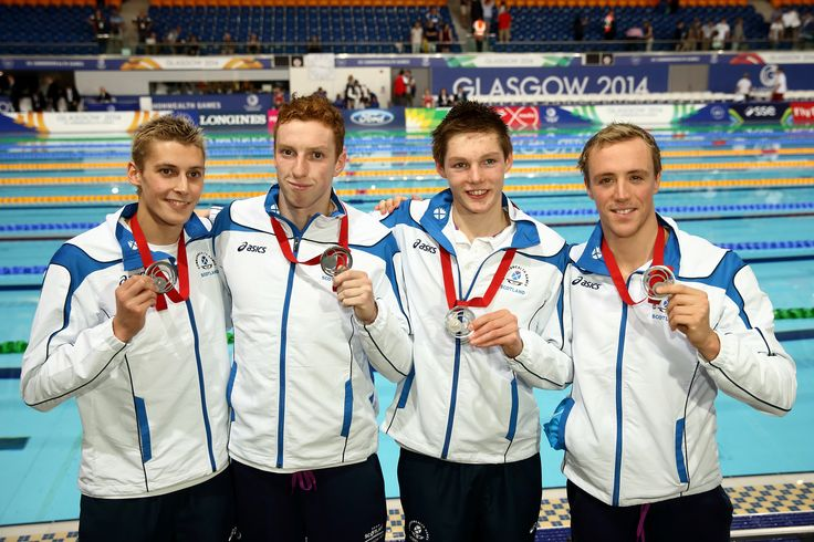 Team Strathmore swimmer Robbie Renwick and the Scottish team claimed silver in the 4x200m after a thrilling race, and set a new Scottish record.