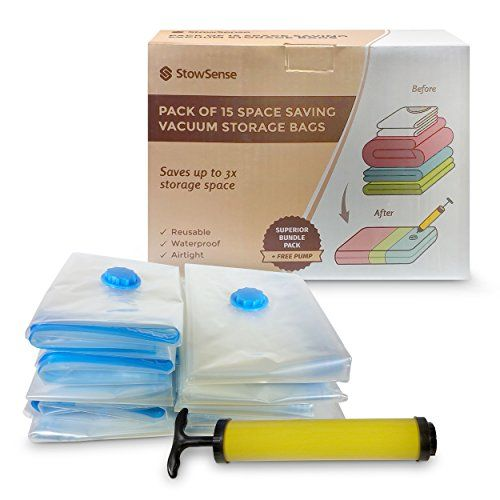 Lets face it: When you want easy, heavy duty, portable #vacuum #storage bags for your big, bulky items that need to be stored for the season - or if you're travel...