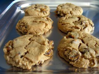 I'm actually making these kosher (flourless) peanut butter cookies for Passover this year. They sound delish!