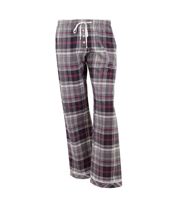 Strike a Pose Brushed Check Pyjama Pant