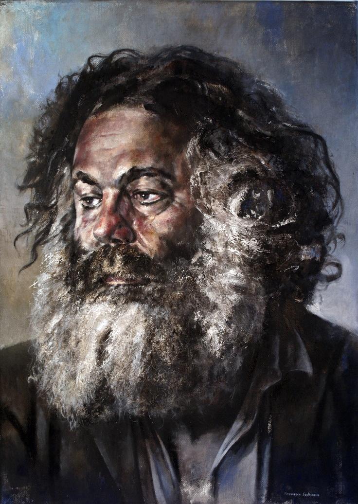 JEAN BLANCHAERT 2 -  ritratto dipinto da Francesco Santosuosso