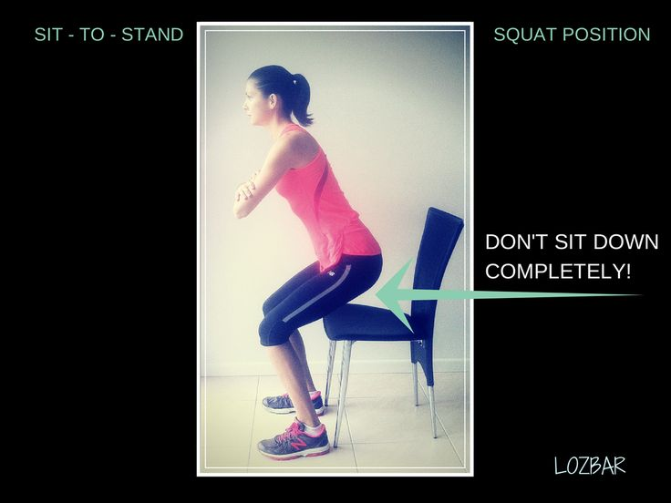 Get up, stand up, stand up for your HEALTH: The Sit-To-Stand - Lozbar