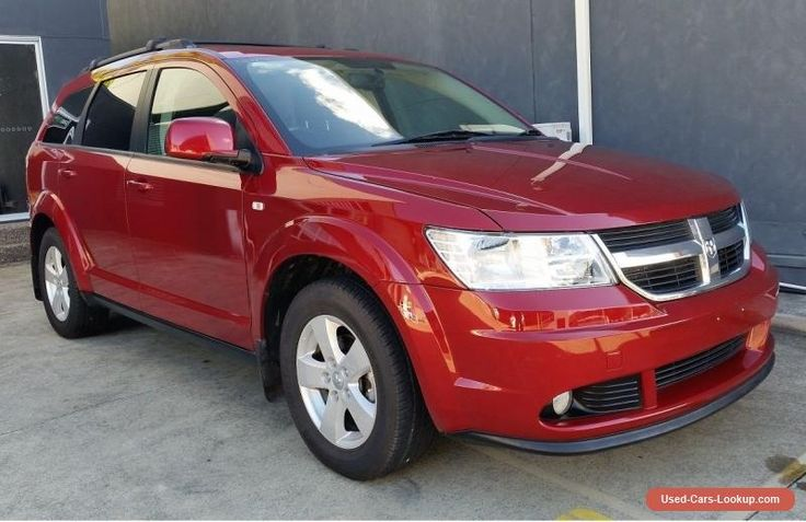 2010 Dodge Journey SXT 7 Seater Wagon RWC #dodge #journey #forsale #australia
