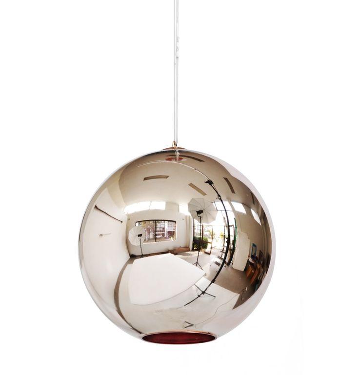 ceiling ls copper shade pendant light matt blatt