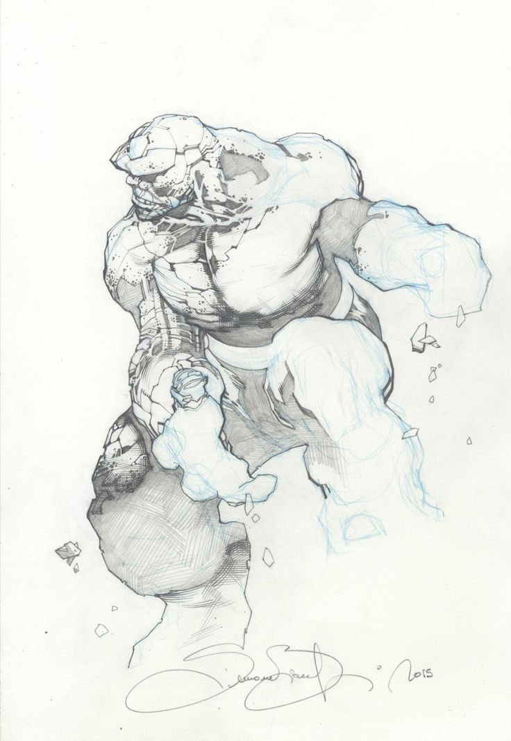 Ben Grimm - The Thing by Simone Bianchi