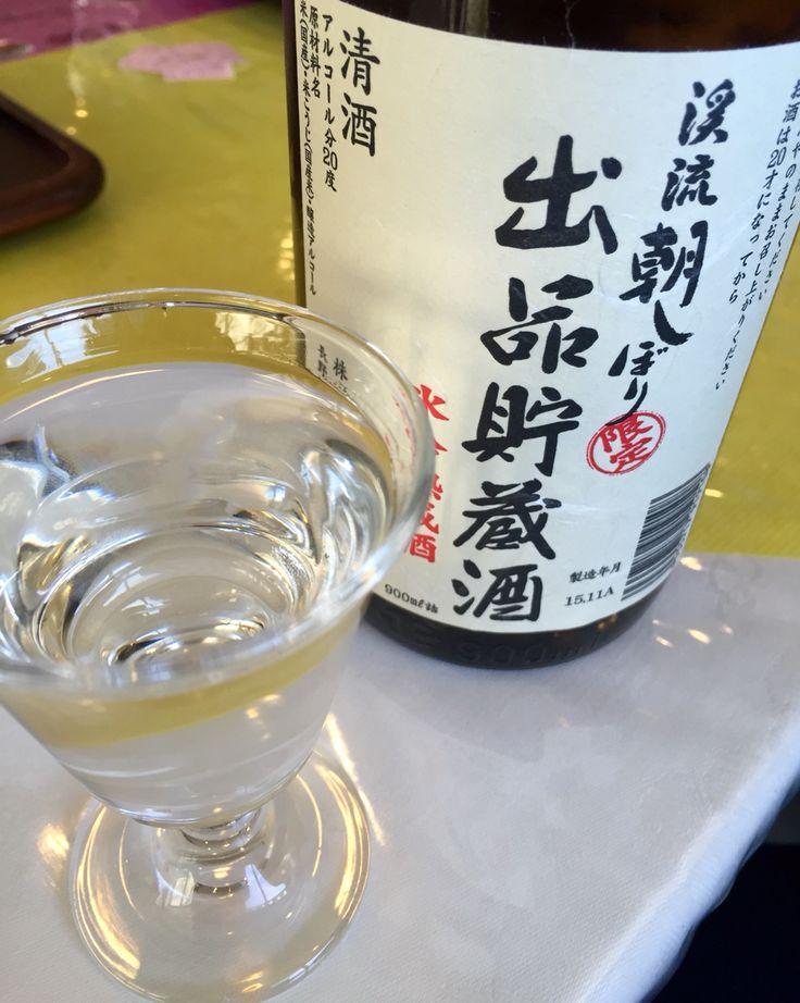 濃い! 渓流朝しぼり、信州は須坂の遠藤酒造さん