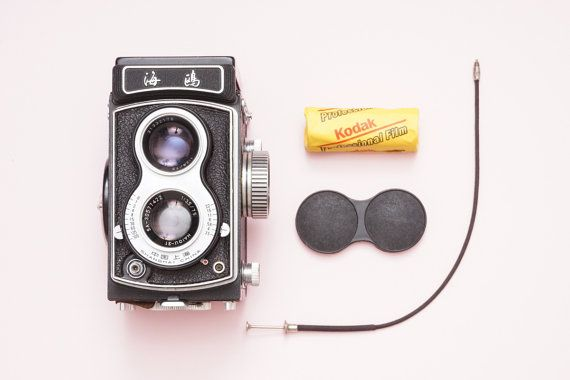 Seagull 4A TLR 6x6 Medium Format Vintage Film Camera  by ohsocult