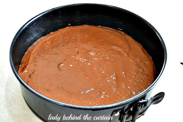 Lady Behind The Curtain - Triple Chocolate Mousse Cake