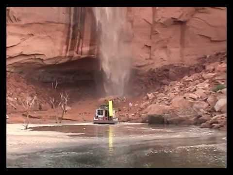 ▶ Wandering Waterfall- Lessons Learned from a Lake Powell Flash Flood - YouTube