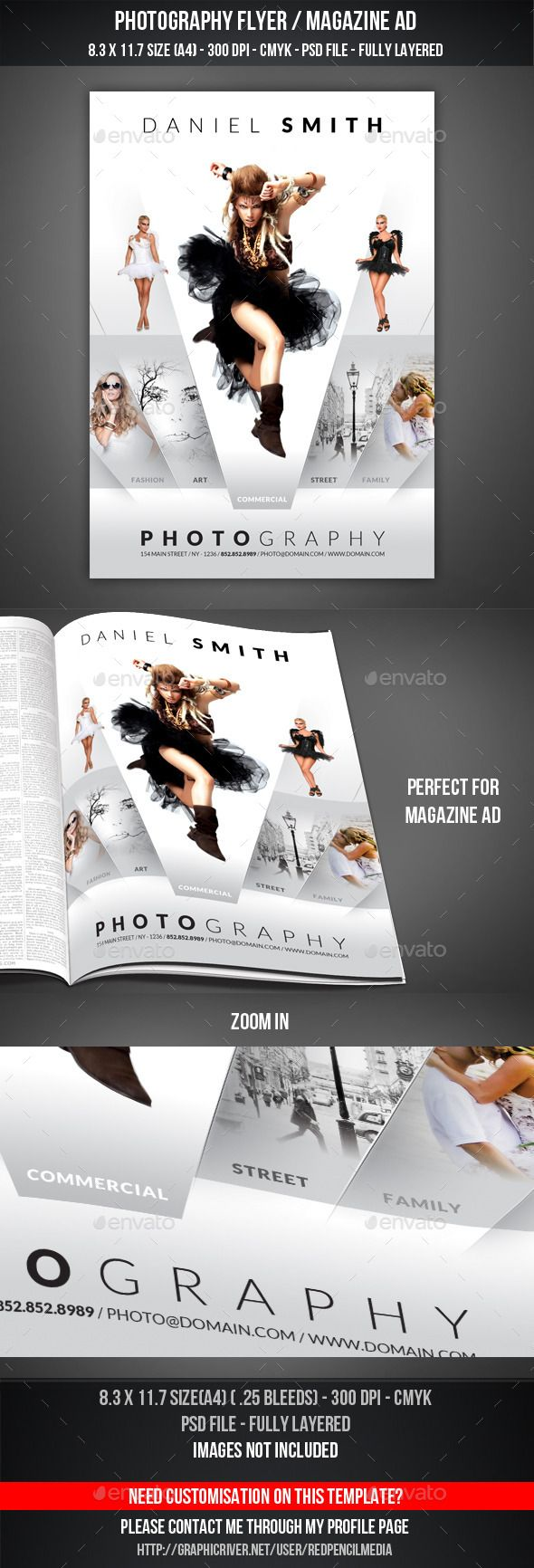 best ideas about photography flyer graphic photography flyer magazine ad
