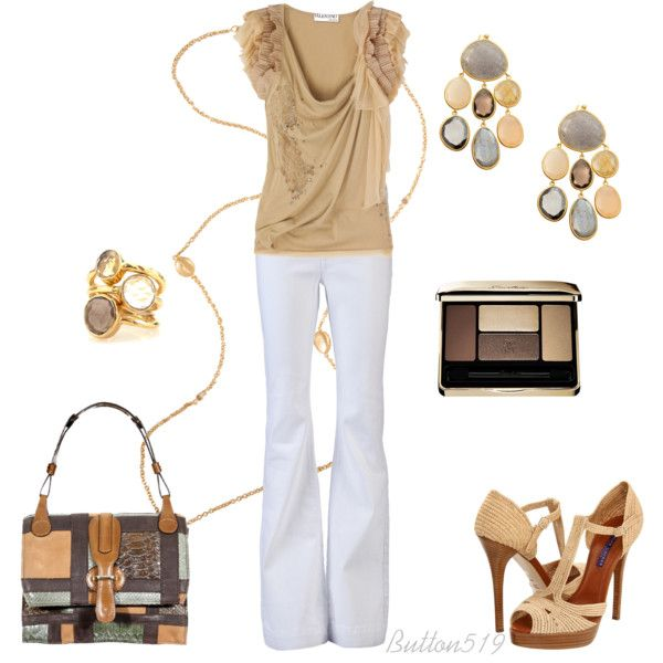 OutfitClassy Outfit, Women Fashion, Woman Fashion, White Outfit, Gorgeous Clothing, Grey, Tans Outfit, Style Upgrades, Dreams Closets