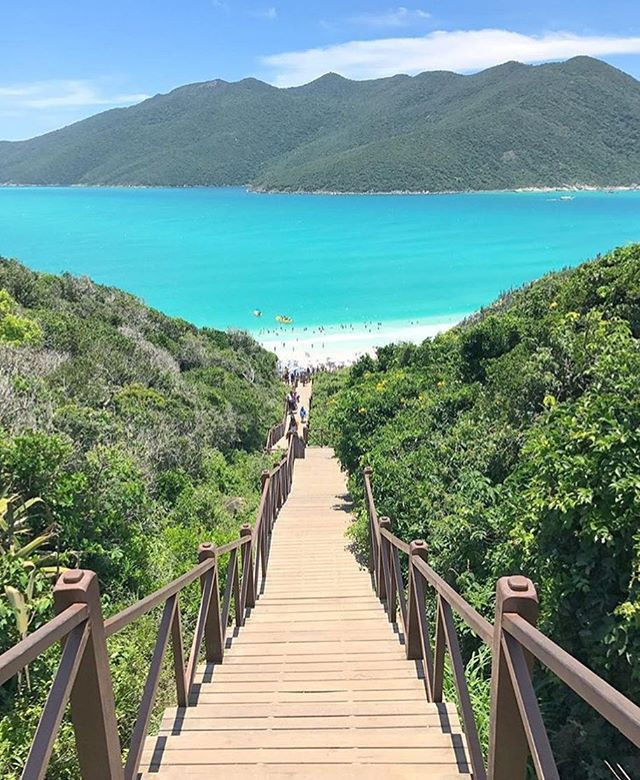 "Photo Credit @thiago.lopez  Name:  Stairway to Heaven  Location:  Arraial do Cabo, Brazil ━━━━━━━━━━━━ @luxwtprime is an exclusive group of @luxuryworldtraveler travel photographers and media contributors from around the world. ━━━━━━━━━━━━ ""Dream Big, Eat Well & Travel On!"" ━━━━━━━━━━━━ #luxwt #luxuryworldtraveler #luxwtprime #wanderlust #travel #explore #beautiful #adventure #vacation #holiday #thelife #dream #dreambig #travelon #getoutthere #seetheworld #paradise #arraialdocabo #brazil"