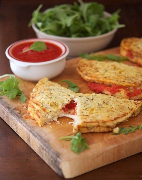 Blumenkohl Calzone - Low Carb