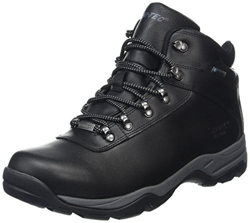 Hi-Tec Men Eurotrek Iii Waterproof High Rise Hiking Boots, Black (Black 021), 9 UK 43 EU The Eurotrek III is a waterproof leather walking boot for men. The durable leather upper features Hi-Tecs Dri-Tec waterproof and breathable membrane to keep feet dry. Lo (Barcode EAN = 5013342084893) http://www.comparestoreprices.co.uk/december-2016-6/hi-tec-men-eurotrek-iii-waterproof-high-rise-hiking-boots-black-black-021--9-uk-43-eu.asp
