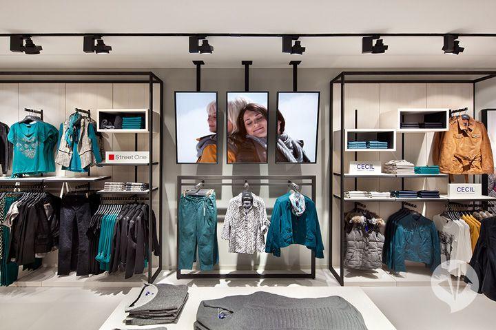 Красивый бутик одежды FAVORS в Берлине