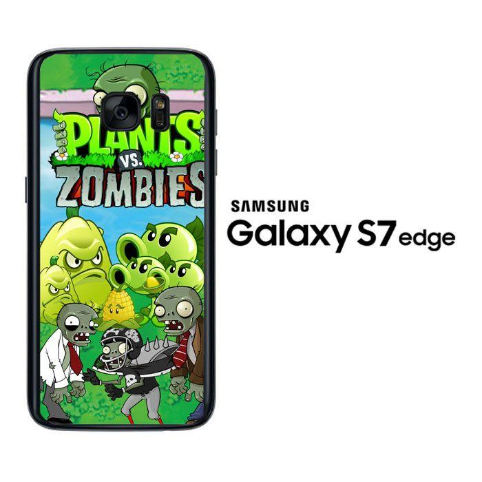 plants zombie D125 Samsung Galaxy S7 Edge Case