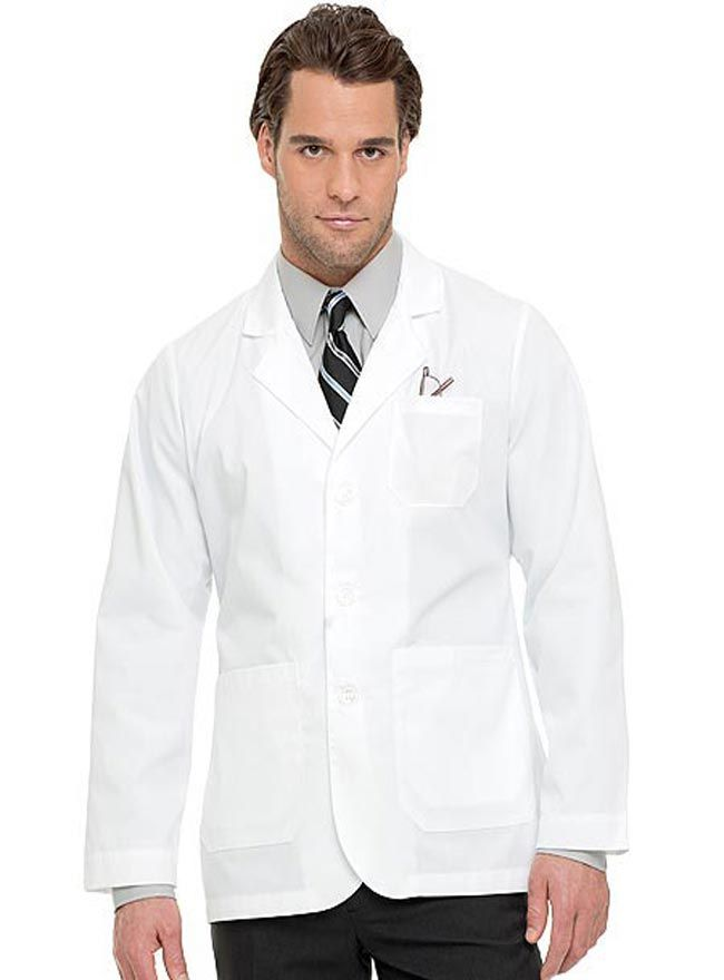 Style Code: (LA-3224TW) This is the TWILL version of 3224 consultation lab coat created by Landau Uniforms. It also features a notched lapel collar, long set-in sleeves and three-button front closure. You can easily organize your tools and personal items with its three spacious outer pockets and two lower inside pockets. Also included is a two-piece vented back for ease of movement.