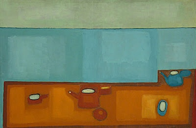"""Jerzy Nowosielski """" STILL LIFE """" 1965"""