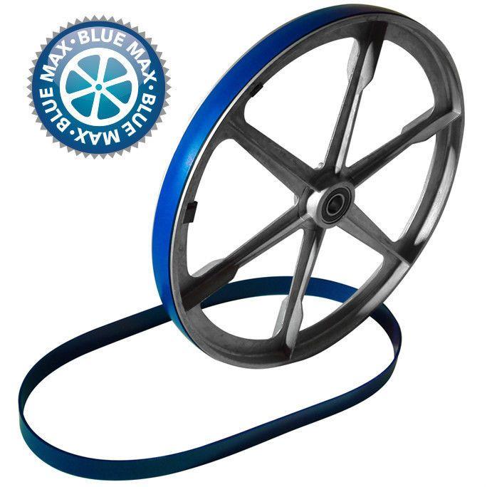"7 5/8"" X 3/4"" Urethane Bandsaw Tires - Blue Max Heavy Duty 2 Tire Set."