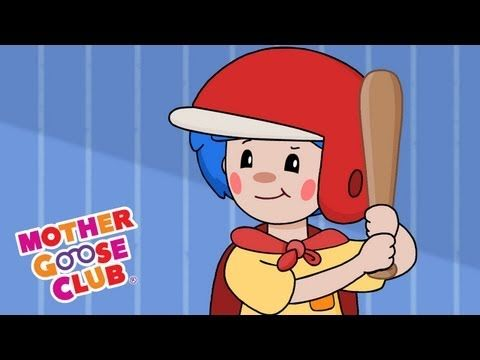 Take Me Out To The Ball Game - Mother Goose Club Nursery Rhymes - YouTube
