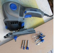 Home-Dzine - Use Dremel Trio to make own moulding and trim