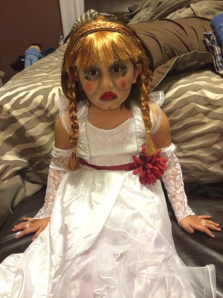 annabelle halloween costume annabelle doll halloween costume in 2018 pinterest halloween costumes annabelle doll and costumes