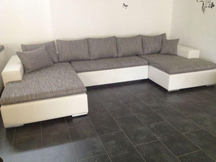 378cm schlafcouch u wohnlandschaft big sofa couch sofa bettsofa ... - Big Sofa Oder Wohnlandschaft