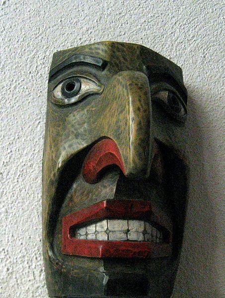 Juan María Medina Ayllón Máscara Madera policromada