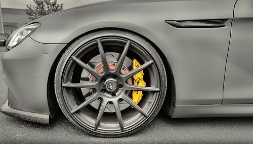 Brembo Brakes and Forgestar Wheels on a BMW 650i