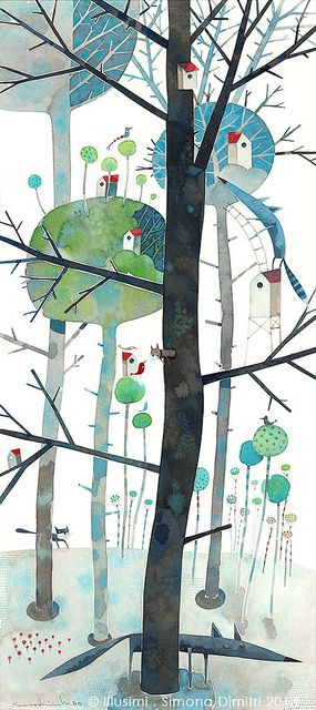 life upon the trees   by Simona Dimitri