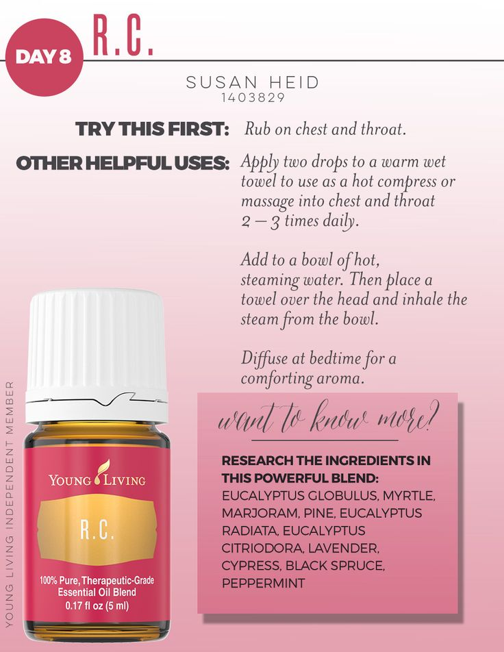 Young Living RC - perfect to support your wellness journey!