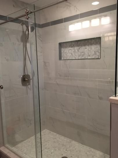 msi carrara 12 in x 24 in polished porcelain floor and wall tile rh pinterest es