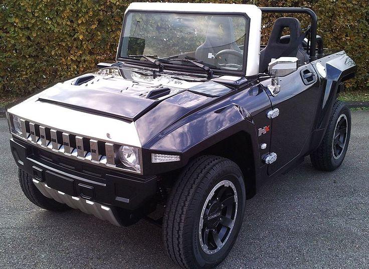 MEV HUMMER HX-T in Metallic Black, Netherlands