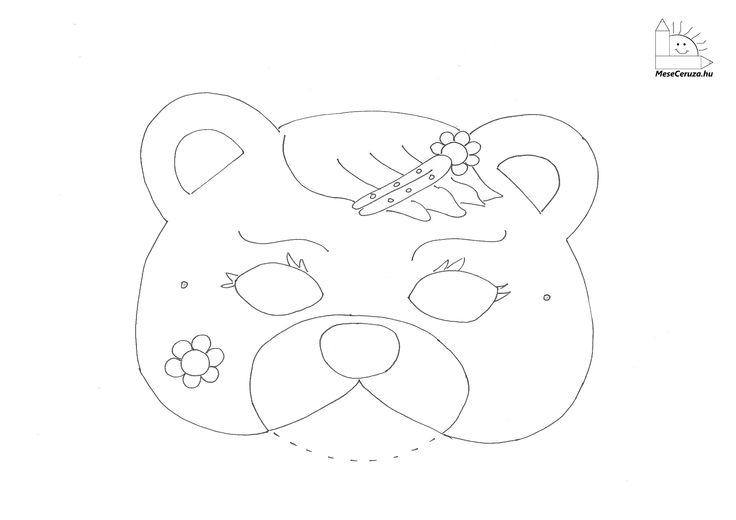 farsangi maszkok gyerekeknek nyomtatható - Google keresés