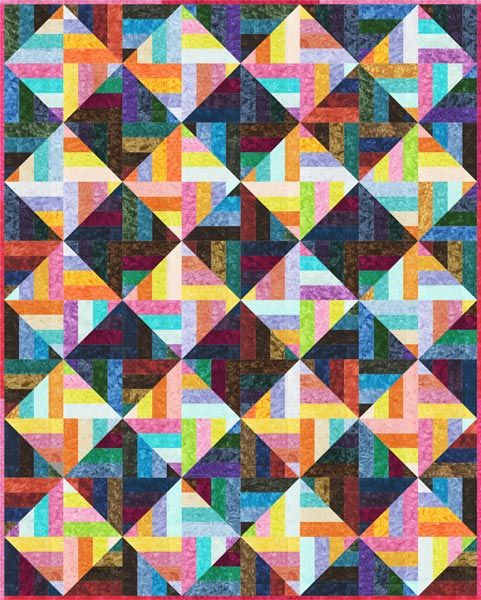 Quilt Patterns Using Strips Of Fabric : 17 Best images about Quilts - Strips on Pinterest Quilt, Quilting fabric and Tile