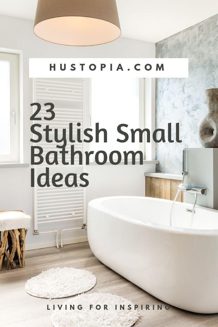 23 stylish small bathroom ideas to the big room statement home rh pinterest com