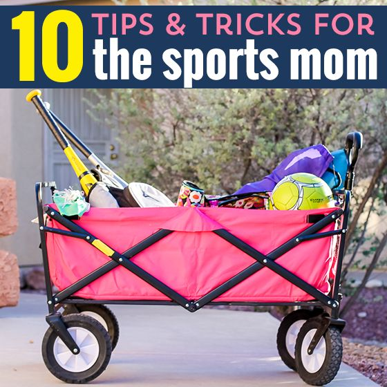 10 Tips & Tricks for the Sports Mom » Daily Mom