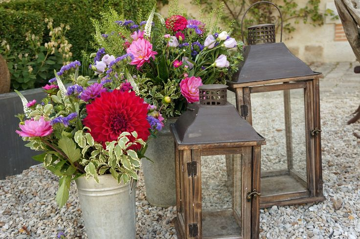 Mariage Rustique chic - Fuchsia et Violet - Design Dessine-moi une etoile - Fleurs Aude Rose