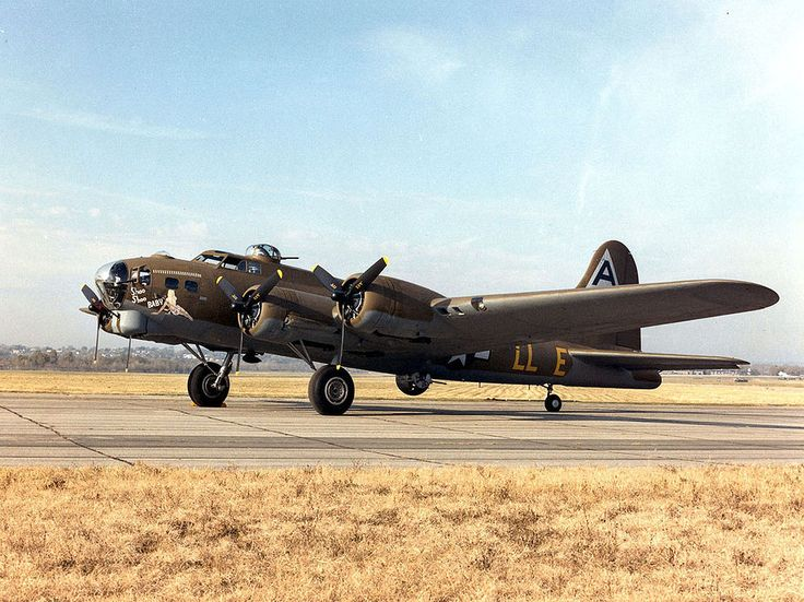 """""""Shoo Shoo Baby"""" is the name of a B-17 Flying Fortress in World War II, preserved and on public display. A B-17G-35-BO, serial number 42-32076, and manufactured by Boeing, it was named by her crew for a song of the same name made popular by The Andrews Sisters, the favorite song of its crew chief T/Sgt. Hank Cordes. Photographs of the bomber indicate that a third """"Shoo"""" was added to the name at some point in May 1944 when the original aircraft commander completed his tour"""