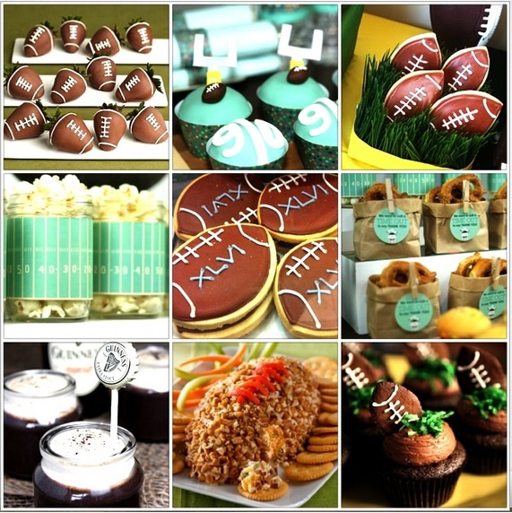 Football Snacks For SuperBowl. Find This Pin And More On Football Themed  Baby Shower ...