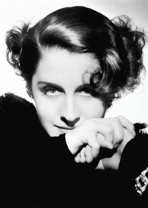 Norma Shearer photographed by George Hurrell for the film Riptide, 1934.