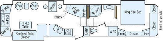 2008 Escalade Floor Plan