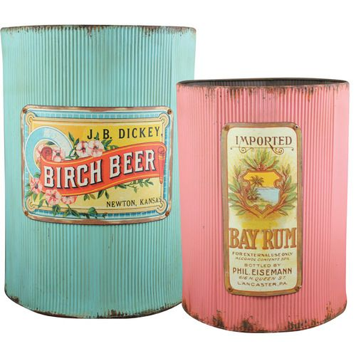 Retro Containers Love this seasons bright happy colours