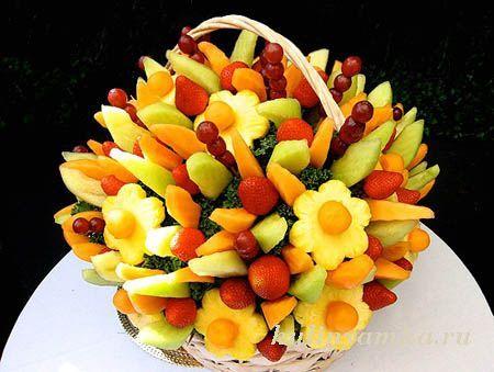 фруктовая нарезка оформление с фото