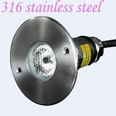 [ $68 OFF ] 6Pcs/lot 316 Stainless Steel Ip68 3W Rgb Led Underwater Light Color Changing Swimming Pool Light Pond Lamp