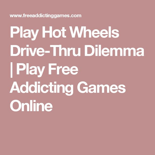 Play Hot Wheels Drive-Thru Dilemma | Play Free Addicting Games Online