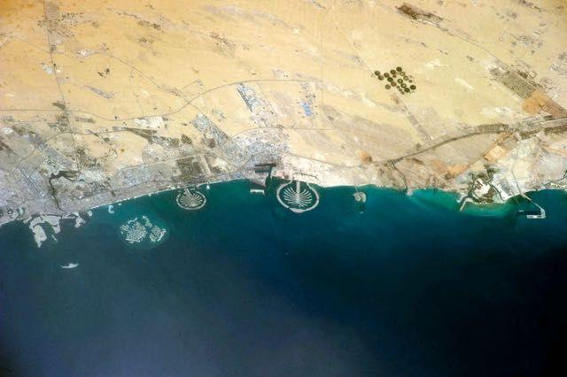 Isole artificiali Dubai - Emirati Arabi Uniti.